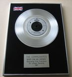 COMMUNARDS - NEVER CAN SAY GOODBYE Platinum Single Presentation DISC
